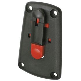 KlickFix Micro 200 Sac porte-bagages Extensible, black
